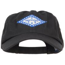 e4Hats.com Arkansas State Flag Embroidered Low Cap