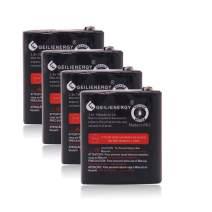 GEILIENERGY 3.6V 700mAh Battery Compatible for Motorola 53615 m53615 KEBT-071-A KEBT-071-B KEBT-071-C KEBT-071-D (4 Pack)