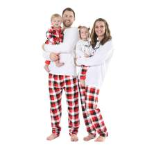 Weixinbuy Family Pajamas Christmas Santa Sleepwear Pjs Matching Clothes for Men Women Kids Toddler Baby Boys Girls