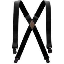 Arcade Belt Mens Jessup Suspenders: 4 Point Heavy Duty Elastic Webbing, Durable Metal Clips