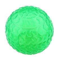 Aduck Dog Ball Toys Squeaky (Arrow Bouncy Series) (Non-Toxic Soft Natural Rubber), Cute Crystal Ball Design -3.15inch