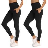CHANGGER Womens Leggings High Waisted Tummy Control Slim Soft Workout Yoga Pants