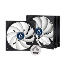 ARCTIC F12 PWM PST (Value Pack, 3 Pack) - 120 mm PWM PST Case Fan with PWM Sharing Technology (PST), Very Quiet Motor, Computer, Fan Speed: 230-1350 RPM