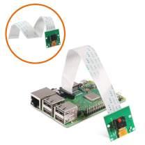 Raspberry Pi Camera Module 5MP 1080p OV5647 Sensor Video Webcam Compatible with 6inch 15Pin Ribbon Cable for Raspberry Pi Model A/B/B+,Pi 2 and Raspberry Pi 2.3,3B+ and Pi 4