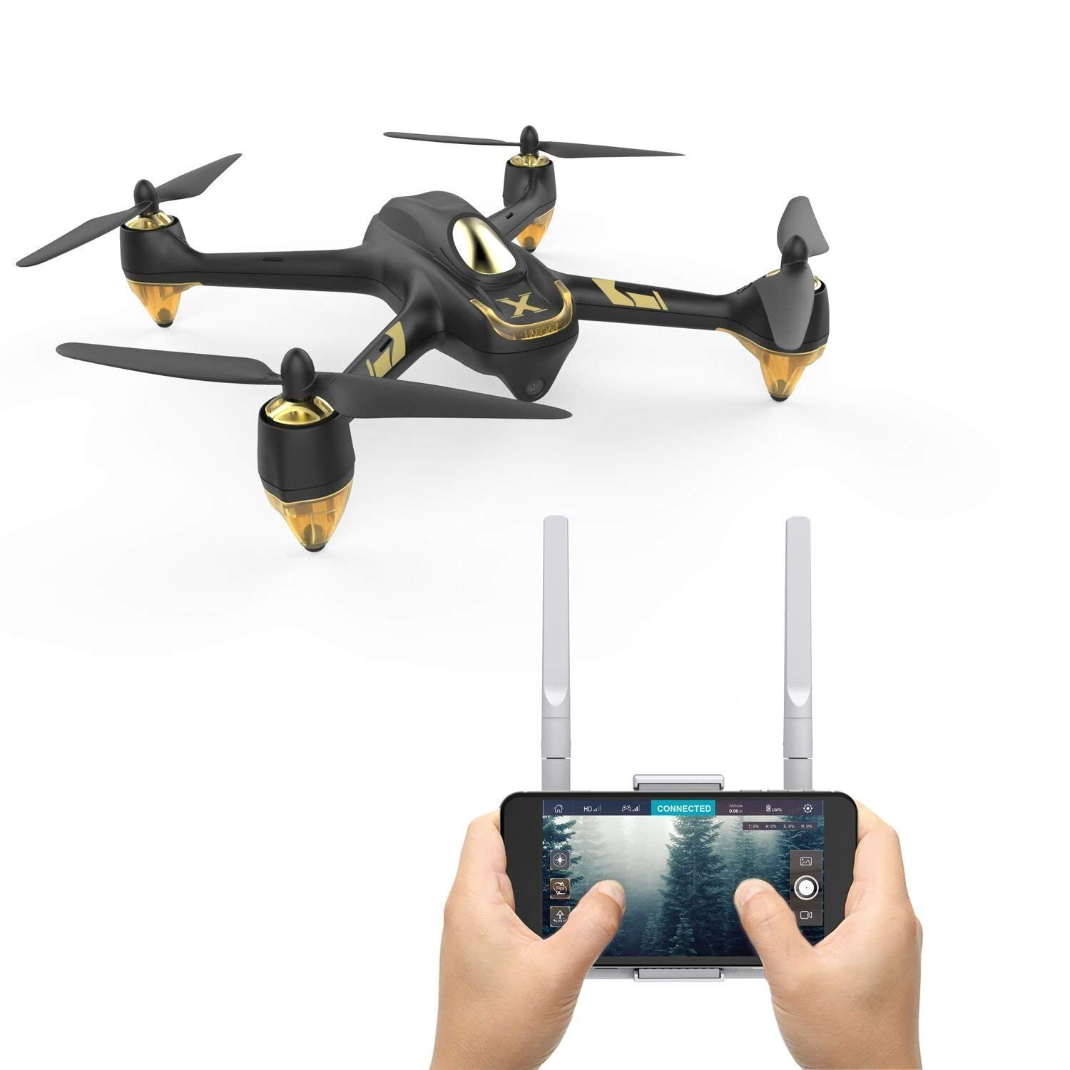 HUBSAN HubsanH501A X4 Air Pro BRUSHLEES WiFi Quadcopter Drone 1080P HD Camera GPS Live Video RTF