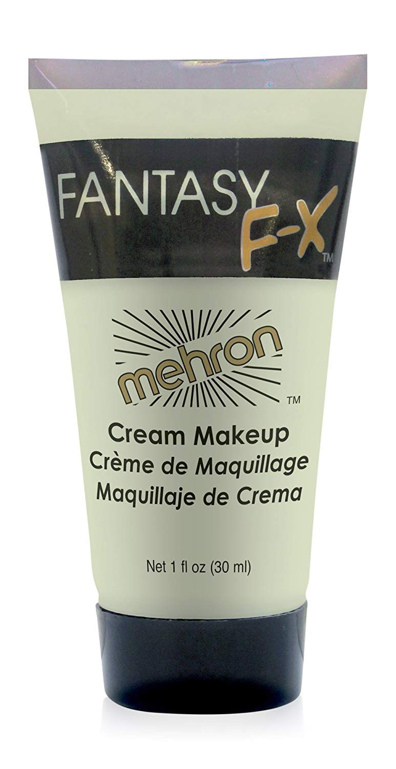 Mehron Makeup Fantasy F/X Water Based Face & Body Paint (1 oz) (LIBERTY GREEN)
