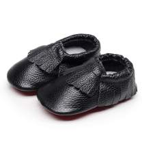 HONGTEYA Toddler Moccasins Boys Shoes