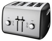 KitchenAid KMT4115OB Toaster with Manual High-Lift Lever, Onyx Black