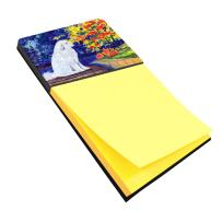Caroline's Treasures SS8240SN Great Pyrenees Refiillable Sticky Note Holder or Postit Note Dispenser, Large, Multicolor