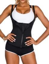 Lover-Beauty Women's Underbust Corset Waist Trainer Cincher Body Shaper Vest