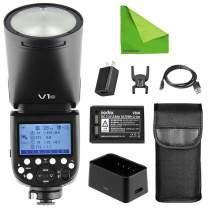 Godox V1-C V1 Li-on TTL On-Camera Round Flash Speedlight Compatible with Canon
