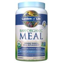 Garden of Life Meal Replacement Vanilla Powder, 28 Servings, Organic Raw Plant Based Protein Powder, Vegan, Gluten-Free *Packaging May Vary*