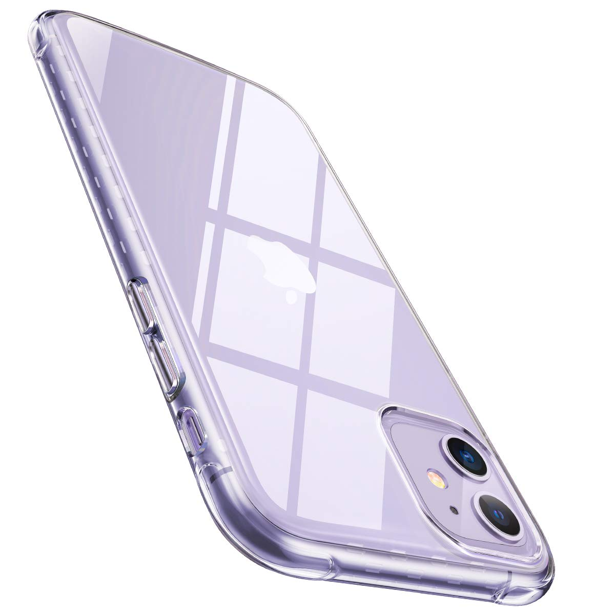 AINOPE Compatible iPhone 11 Case, Cyrstal Clear [Anti-Drop] Phone Case for iPhone 11 [Soft Sillicone TPU] [Scratch-Resistant] Screen and Camera Protection iPhone 11 Cover 6.1in (2019)