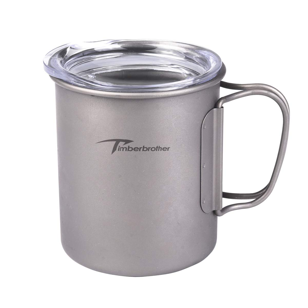 Timberbrother 10oz 300ml Mug Titanium Double Wall Cup with Lid