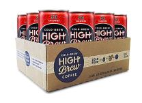 High Brew Coffee Double Espresso Can, 8 Fl Oz,  Pack of 12