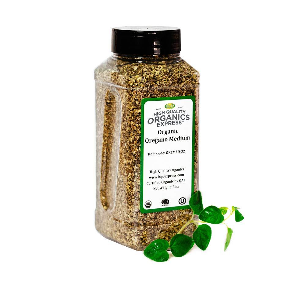 HQOExpress | Oregano Leaf Organic | 5 oz. Chef Jar