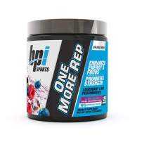 BPI Sports One More Rep Pre-Workout Powder - Increase Energy and Stamina - Intense Strength - Recover Faster - Beetroot - Carnitine - Citrulline - 0 Calories - Berry Splash - 25 Servings - 8.8 oz.