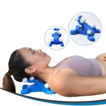 Zensolo Neck Shoulder Pain Relief, Cervical Pillow and Neck Traction for Neck Pain Relief, Tension Headache Relief. Your Acupressure Neck Stretcher