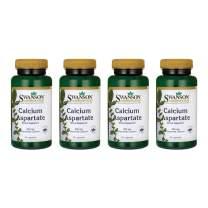 Swanson Calcium Aspartate 200 mg 60 Caps 4 Pack