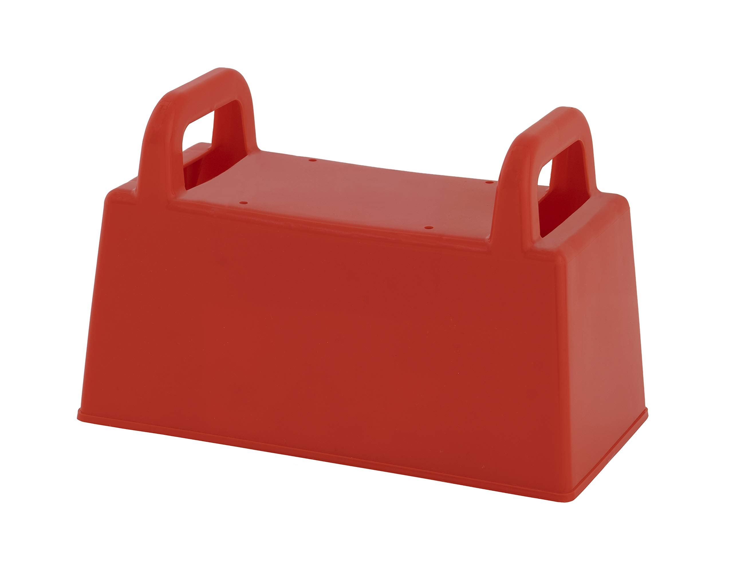 """Superio Sand Block Mold, Red Plastic Brick Shape Mold, 10"""" Sand Mold to Build Sand Castle Beach Mansion, Sand Box Toys for Kids, Snow Brick Mold Outdoor Toy for Spring and Summer"""