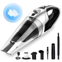 VacLife Handheld Vacuum, Hand Vacuum Cordless with High Power, Mini Vacuum Cleaner Handheld Powered by Li-ion Battery Rechargeable Quick Charge Tech, for Home and Car Cleaning - Silver