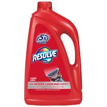 Resolve Steam Carpet Cleaner Solution Shampoo, 60oz, 2X Concentrate, Safe for Bissell, Hoover & Rug Doctor