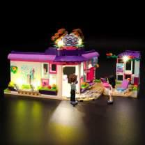 LIGHTAILING Light Set for (Friends Emma's Art Café) Building Blocks Model - Led Light kit Compatible with Lego 41336(NOT Included The Model)
