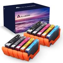 ALLWORK Compatible 564 XL Ink Cartridge Replacement for HP 564XL Combo Pack for HP Photosmart 7520 7510 7525 6515 6510 5520 5510 5514 4620 3520 D7560 B8550 B209a C410 C6380 10-Pack (2K/2PK/2C/2M/2Y)