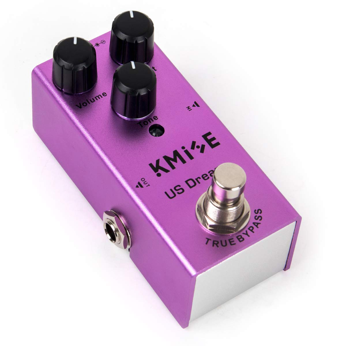 Electric Guitar Distortion Effect Pedal Mini Single Type DC 9V True Bypass (US Dream)
