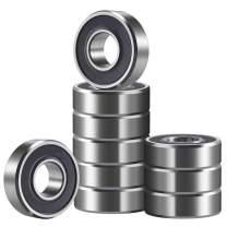 Donepart 6202RS Bearings 6202-2RS High Precision Ball Bearings 15mm x35mm x11mm for Electric Motors, Wheels, DIY, Industrial Equipment, etc. (10pcs)