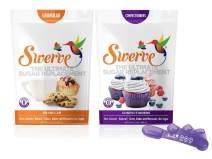 Swerve Sweetener Bakers Bundle (12 Ounce Granular & Confectioners + Measuring Spoons): The Ultimate Sugar Replacement