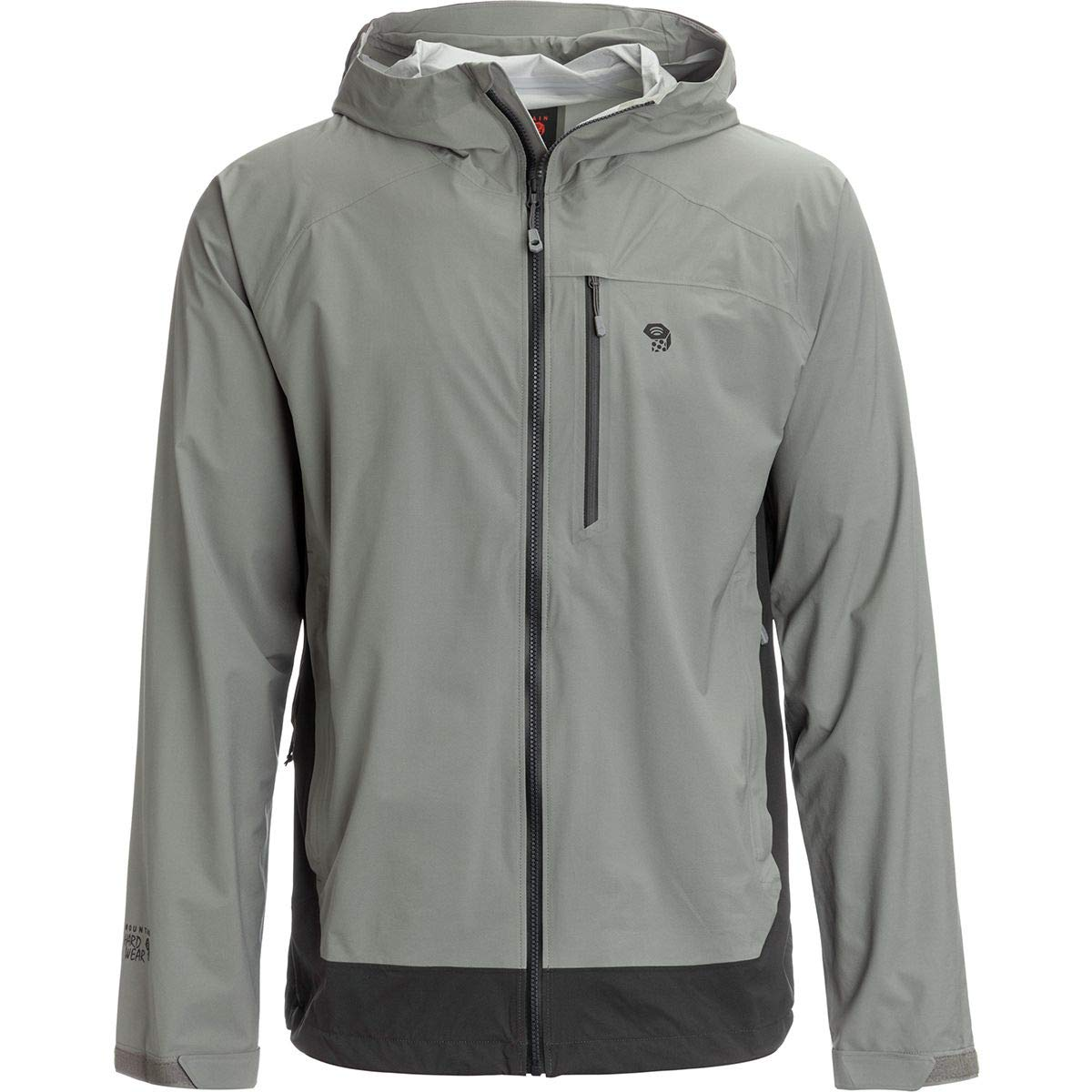 Mountain Hardwear Men's Stretch Ozonic Jacket Waterproof Breathable for Hiking, Backpacking, and Everyday