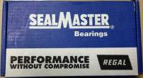 """Sealmaster SPM-31 CXU Pillow Block Ball Bearing, Non-Expansion Type, Medium-Duty, Regreasable, Set Screw Locking Collar, Felt Seals, Noise Tested, AC Housing Fit, Cast Iron Housing, 1-15/16"""" Bore, 2-3/4"""" Base to Center Height, 7-5/8"""" Bolt Hole Spacing Width, ±2 degrees Misalignment Angle"""