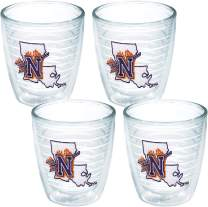Tervis 1043297 NSU Demons Tumbler with Emblem 4 Pack 12oz, Clear