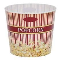 Time for Treats Large Popcorn Bucket, 7 Quart, Burgundy