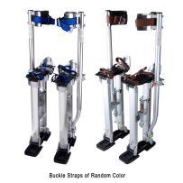 "Yescom 24""-40"" Professional Grade Adjustable Drywall Stilts Taping Paint Stilt Aluminum Silver"