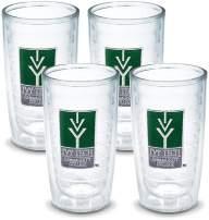 Tervis 1052747 Ivy Tech Cc Emblem Tumbler, Set of 4, 16 oz, Clear