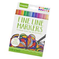 Fine Line Thin Point Markers – Classic or Contemporary Options with 12 Colors Each – Get an Individual Variation or 1 of Each – For High Detail Coloring (Contemporary)