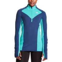 Mission Women's VaporActive Stamina Lightweight 1/4 Zip Long Sleeve Shirt