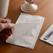 Endless 2-Ply White Dinner Napkins - Casual Napkins For Everyday Use - 150 Pack