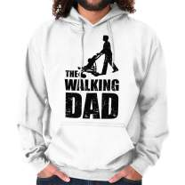 Brisco Brands Stroller Dad Funny Father Zombie TV Show Hoodie