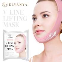 Reusable V line Lifting mask - Double Chin Reducer Strap - V Shaped Slimming Face Mask - Face Lifting Bandage - Tightening Up Skin And Help Reduce the Wrinkles