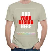 Men Custom t-Shirt Tee, Design Your Custom Shirt, Add Your Image Photo Text