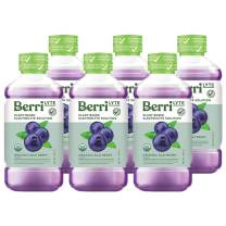 Berri Lyte Acai Pediatric Electrolyte Drink Solution | Completely Organic - Non-GMO - Plant Based - Gluten Free - Paleo Friendly | Pediatrician Approved for Kids & Babies |1 Liter| 6-Pack