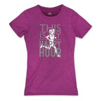 Runners Tee by Gone For a Run | Womens T-Shirt | Gone For a Run Womens Everyday Runners Tee This Is My Happy Hour