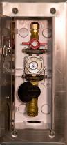 "Burnaby Manufacturing VGP-G0101-CD-2#-38 Concrete Deck Versatile Gas Plug, 3/8"""