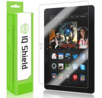 IQ Shield Screen Protector Compatible with Amazon Kindle Fire HDX 7 inch (2013, Wi-Fi and LTE) LiquidSkin Anti-Bubble Clear Film