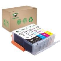 PGI-270XL CLI-271XL Ink Cartridge, Supricolor Replacement Ink Cartridges for Canon PGI 270 CLI 271 5 Color (1BK, 1PB, 1C, 1M, 1Y) Use with Canon TS9020 PIXMA MG6820 MG6821 MG6822 MG5720 MG5721 TS8020