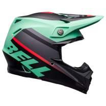 Bell Moto-9 MIPS Off-Road Motorcycle Helmet (Prophecy Matte Green/Infrared/Black, Large)