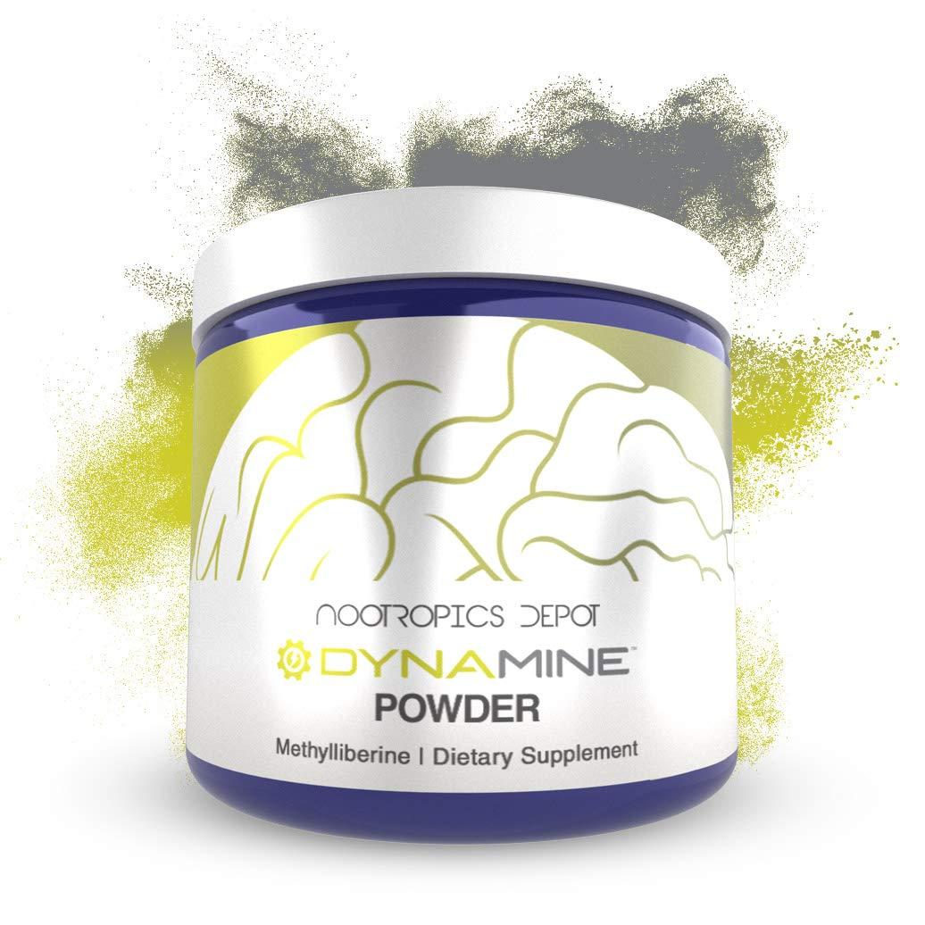 Dynamine Methylliberine Powder | 10 Grams | Coffee and Caffeine Alternative | Natural Energy Supplement